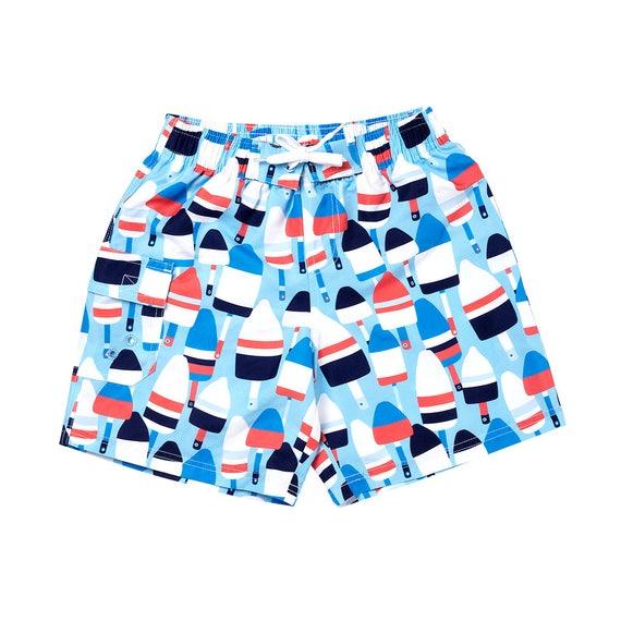 Boys buoy swim suit boys bathing suit swim trunks boys crab bathing suit monogram bathingsuit little boy toddler swim