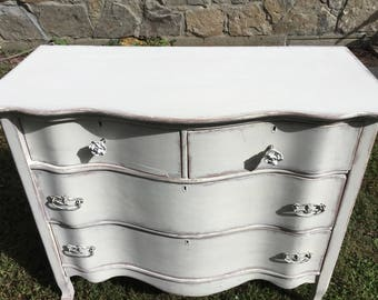 Antique Distressed Chalk Paint Dresser