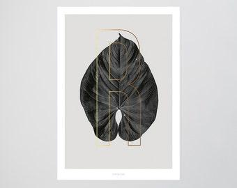 ABC Plants - R / Fine Art-Print, Wall-Art, Minimal Poster Art, Typography Art, Premium Poster, Kunstdruck Poster