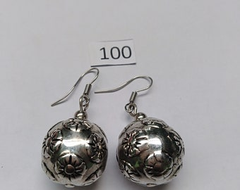 Silver Design Earrings