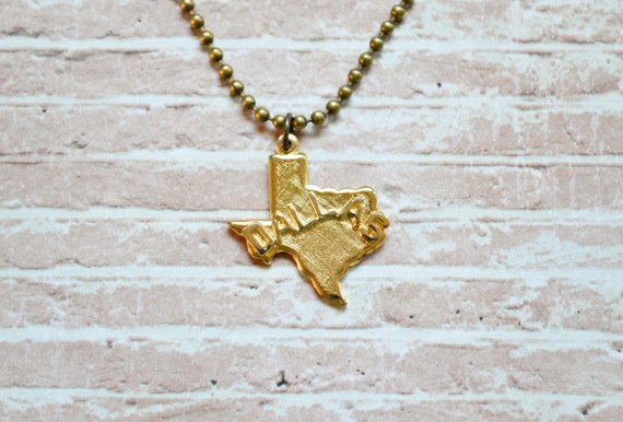 Mens texas necklace mens pendant necklace state mozeypictures Choice Image