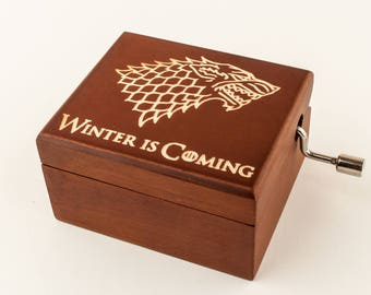 Game of Thrones music box: Winter is Coming