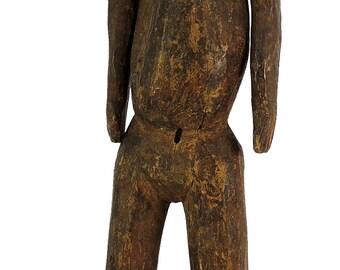 Nyamwezi Male Figure Moveable Arms Tanzania African Art 99339