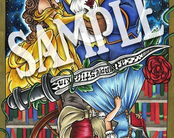 OUAT   Beauty and the Beast ~ Prints