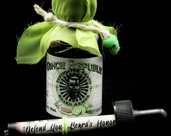 Key Lime Pie: Conch Republic Instigator Brand Beard Armor Beard Oil