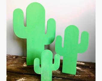 Cactus Metal Art Set