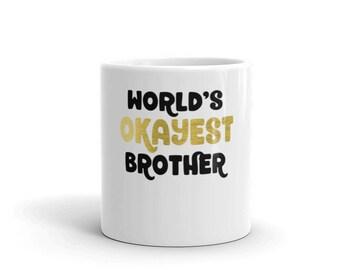 Mug brother gift | gift for brother | coffee mug | brother mug | best brother | brother christmas | brother coffee mug | funny brother mug