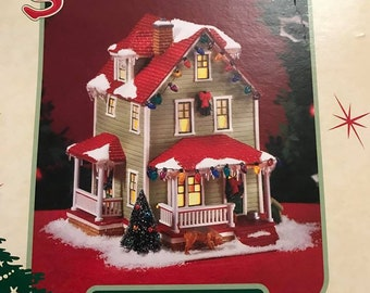 Department 56 A Christmas Story, Bumpus House. 805667. Retired.
