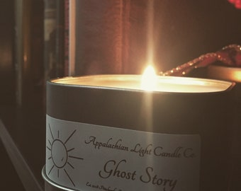 Ghost Story Candle