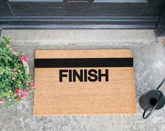 Finish Line doormat - 60x40cm - Funny Athlete Runner