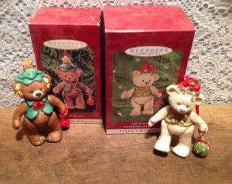 Collectors Set of Hallmark Keepsake ornaments Gift Bearers