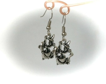 Witch Cauldron Earrings Pagan Wiccan Wicca