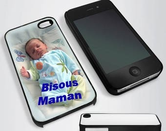 Case for iPhone 4 / 4s personalized with your favorite photo