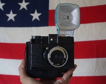 Diana F Plus Instant Film Camera uses Instax Mini Film Tested & Works