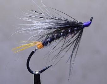 Hand Tied Flies, BC Flies, Steelhead Fly, Fly Tying, Salmon Hook, Fly Fishing, Fishing Lure, Tackle, Custom Flies, Fishing Gift, Feathers