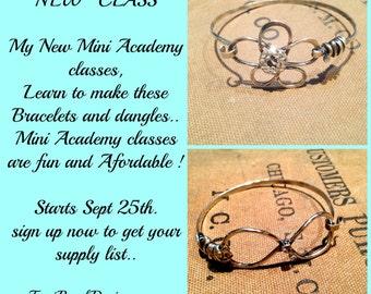 Online Class Sterling silver Soldering Bracelets ! Terri Brush Solder tutorial