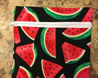 Watermelon Reusable Snack Bag