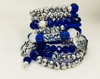 Zeta Phi Beta Snake Bracelet