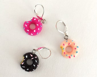 Knitting and Crochet Stitch Markers Progress Keepers Delicious Donuts