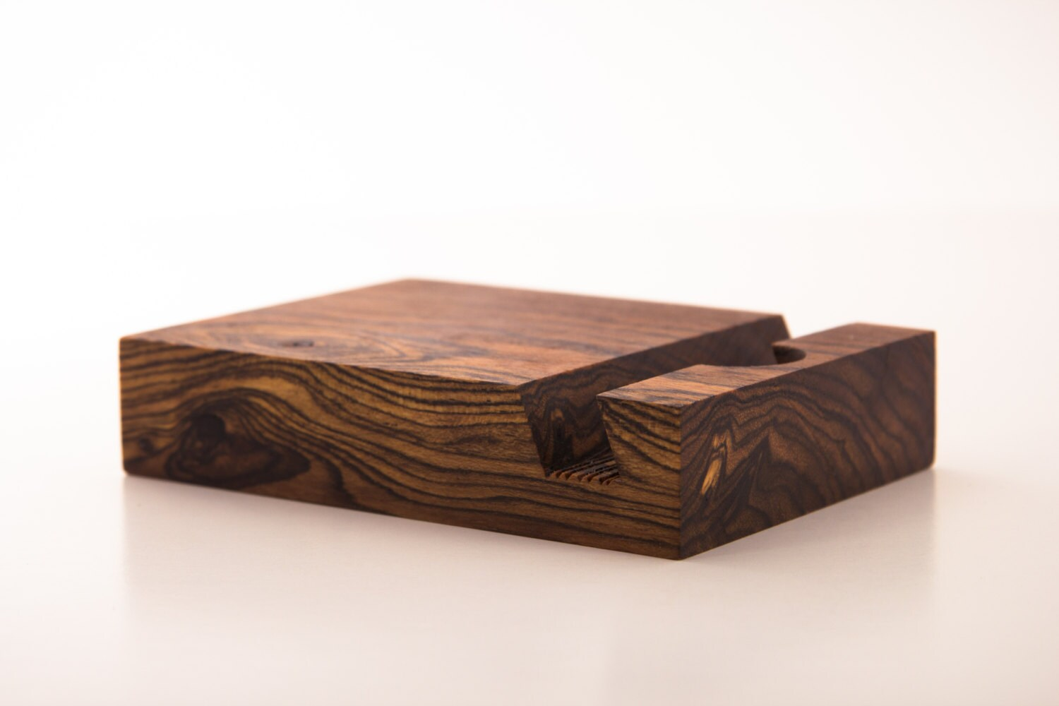 Ipad stand bocote wood tablet stand ipad docking mens zoom floridaeventfo Images