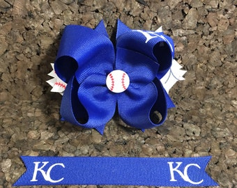 Kansas City Royals Hair Bows