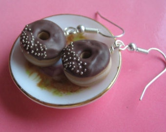 Scented Chocolate Frosted Donuts