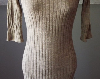 Vintage Short Sleeve Knit Dress by Byer Too!