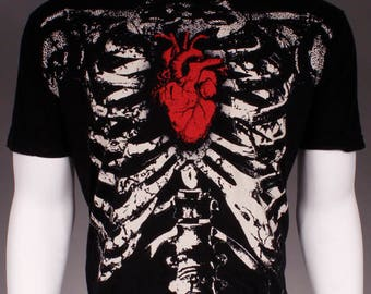 Skeletal T-Shirt (Double Sided)