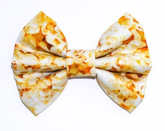 Popcorn Movie Theater Bow