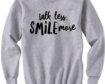 Talk Less Smile More, Hamilton Shirt, Aaron Burr Sweatshirt, Alexander Hamilton Gift Musical Broadway, Revolutionaries, Jefferson