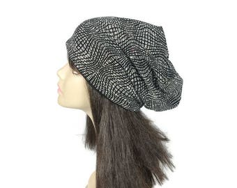 FREE SHIPPING Sparkle Glitter Slouchy Hat Glitter Hats Glam Slouchy Beanie Glam Hats for Hair Loss Glamorous Chemo Caps Sparkly Hats Sparkle