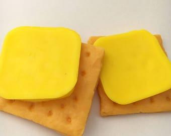 Cheese on Bikkies Soap