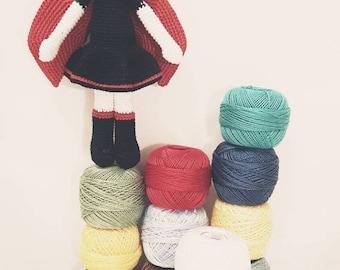 Ladybug - An Amigurumi crochet doll