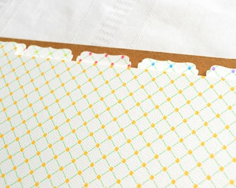 Recipe Binder Tabs - Additional Tabs Sets for your Recipe Binder in Trellis Design
