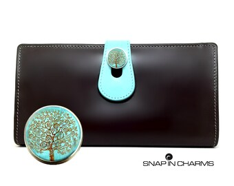 Womens leather Wallet, Women's IPhone 6 wallet, women's RFID wallet, Brown leather Women's Wallet, Brown Leather Wallet Woman's brown wallet