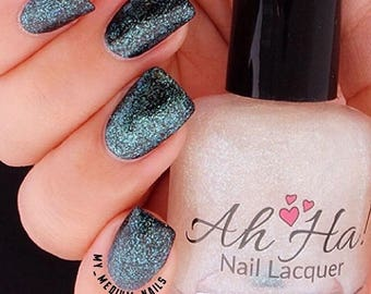 Seaweed Green Metallic Flakie Topcoat