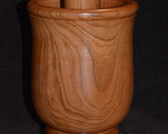 Beautiful Handmade Large Mortar and Pestle
