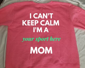 I can't keep calm... I'm a mom