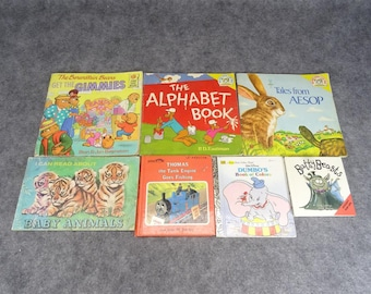 A Set of 7 Children's Books