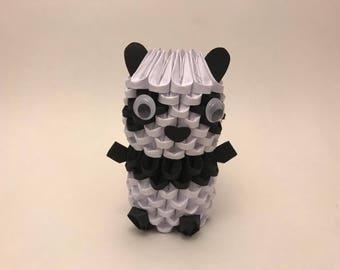 3D Origami Panda - Ready To Ship