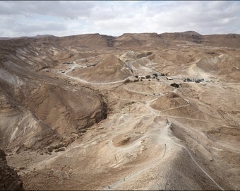 Judaean Desert - View from Masada - Color Photo Print - Fine Art Photography (IS19)