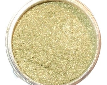 PERIDOT Mineral Eye Shadow 3 Grams or 5 Grams Shimmering Golden Green