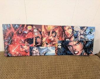 Wonder Woman Comic Panel