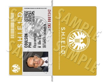 Agents of SHIELD Badges. Screen Accurate Digital Download Only!