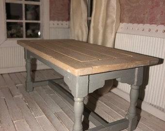 Miniature Farm Table - Country Kitchen