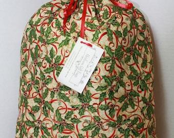 Cloth Gift Bags Fabric Gift Bags Medium Reusable EcoFriendly Drawstring Gift Sacks