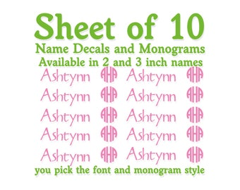 Baby Bottle Label | Custom Decal | Custom Vinyl Decal | Monogram Vinyl Decal | Sippy Cup Label | Sippy Cup Monogram | Bottle Vinyl Decal