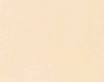 Cream Kona Cotton, Robert Kaufman Fabrics, Half Yard