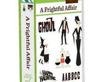 A Frightful Affair Cartridge - Cricut 2001756