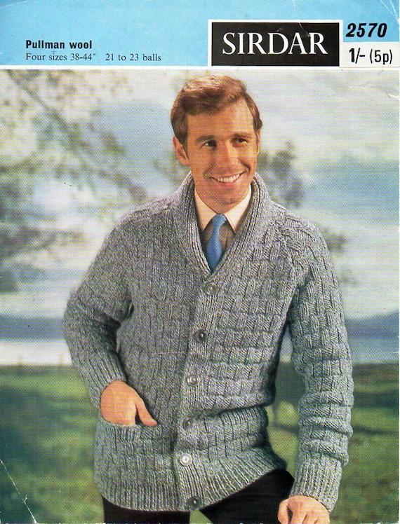 Mens Knitting Pattern Pdf Download Mens Cardigan Knitting Pattern